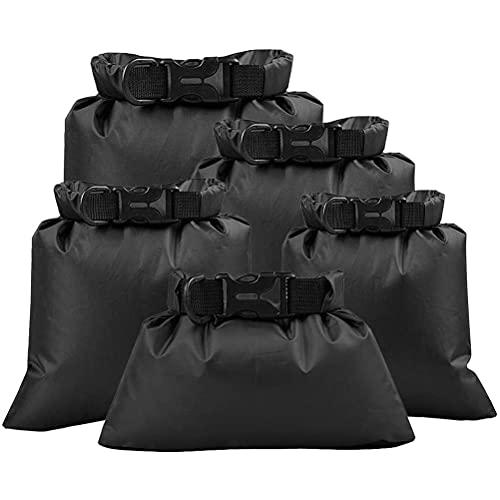 Jsdufs Dry Bag Mochila Impermeable, Mochila Seca Flotante Bolsa de Playa Bolsa para teléfono móvil Bolsa Seca para Paseos en Bote, Pesca, Kayak, Rafting, 1.5 L / 2.5 L / 3 L / 3.5 L / 5 L