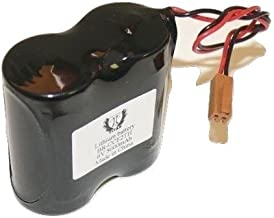 Replacement 4 Panasonic BR-CCF2TH BR-C PLC 6V 5000mAh Lithium Battery with Wire