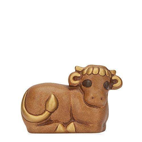 THUN® - Bue Marrone - Statuine Presepe Classico - Ceramica - I Classici