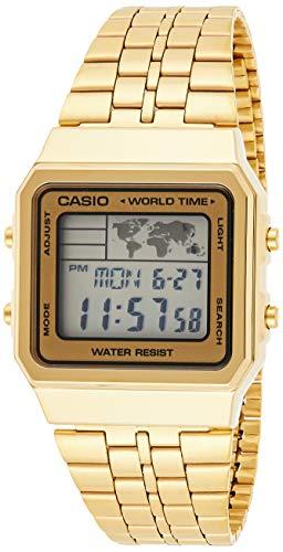 Relógio Masculino Casio Vintage World A500WGA9DF - Dourado