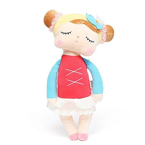 AVANI EXCHANGE MeToo Angela Vestido de Encaje Conejo Relleno 33 cm muñecas de Peluche Juguete para niños niña niños