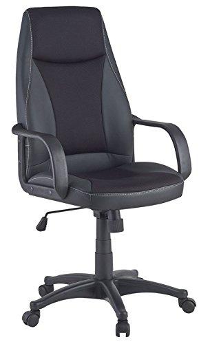 Chefsessel schwarz mit Sitzhöhenverstellung