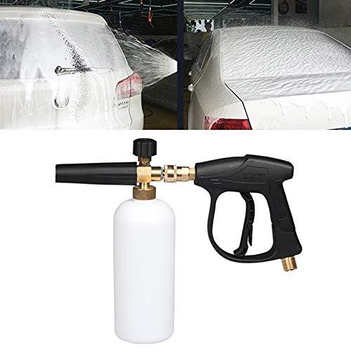 Gun Car Wash auto reinigingsuitrusting hogedrukschuim zeep schuim watergenerator Gun (buitenkabel: 18 x 1,5 mm)