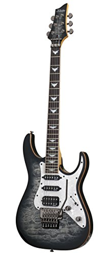 Schecter guitarra Research banshee-6fr Extreme guitarra eléctrica de cuerpo sólido gris Burst