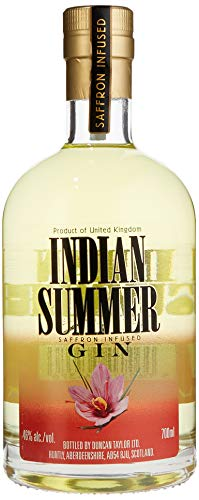 Indian Summer Saffron Infused Gin by Duncan Taylor (1 x 0.7 l)