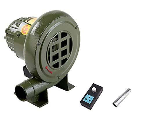FHKBK Soplador de Hierro Fundido de 220 V, Ventilador de Estufa, Ventilador...