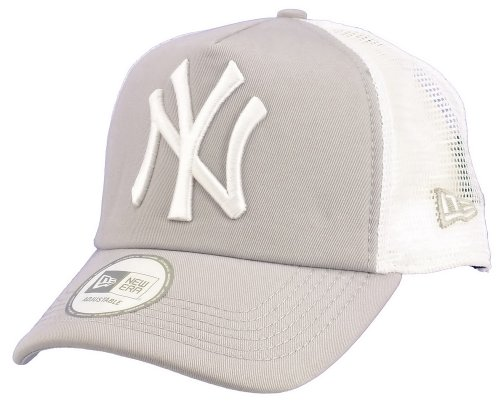 New era New York Yankees Truckercap Clean Grey/White - One-Size