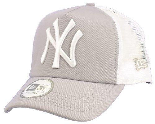 New era New York Yankees Truckercap Clean Grey/White - One-Size
