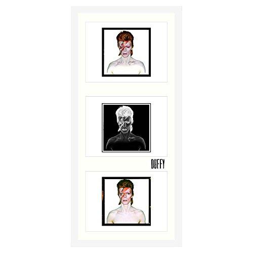 Duffy Archive LTD - Tres impresiones oficiales (enmarcadas) de Aladdin Sane de David Bowie Aladdin