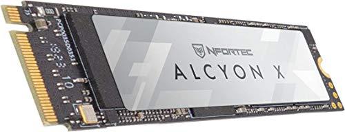 Nfortec Alcyon X M.2 SSD 256GB NVMe,Disco Duro Estado sólido Interno con...