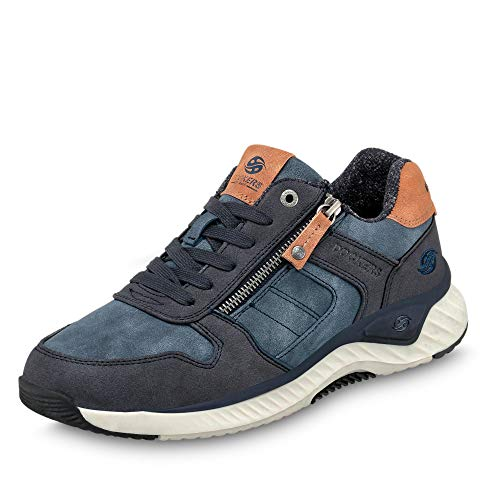 Dockers by Gerli Herren Melvin Sneaker, blau, 44 EU