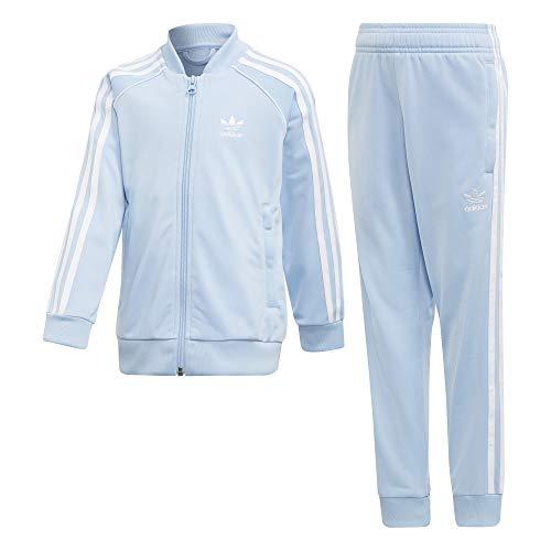 adidas Superstar Trainingsanzug, Unisex Kinder, Unisex Kinder, Trainingsanzug, DV2856_128 (7/8 años), Mehrfarbig (celcla/Blanco), 128 (7/8 años)