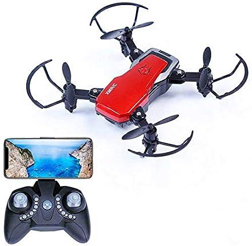 Mini-Drohne Mit FPV-WLAN-Kamera, Live-Video Und GPS-Funktion Für Den Heimstart RC Quadcopter Für Anf er Kinder Erwachsene Mit H nstand, One Key-Start Landung Und 3D-Flips