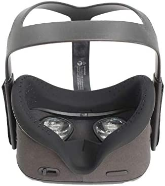 Devansi VR Interfacial Silicone Cover Only for Oculus Quest 1 Protecting Cover Sweatproof Lightproof