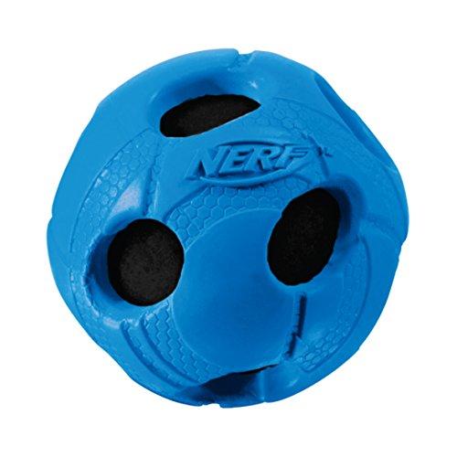 NERF Dog Wrapped Squeak Bash Ball: Ø 5,1 cm, 1 unidad, culores surtidos