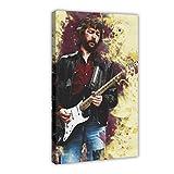 Musiker Eric Clapton Leinwand-Poster, Wandkunst, Dekor,