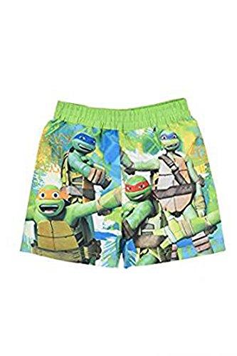 Nickelodeon Pantaloncini Boxer Costume Bambino Tartarughe Ninja (3 Anni, Verde)