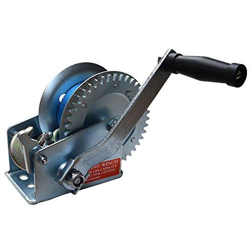 Todoneumaticas Cabrestante Manual 550 Kg (1200 LB) – Galvanizado/Reversible con Tres Posiciones