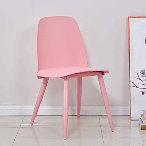 Zjcpow Küche Esszimmerstuhl Freizeit-Stuhl Esszimmerstühle Kaffee Stühle for Gelegenheitsheim Wohn- und Esszimmer Küchenstühle Wohnzimmerstühl (Color : Eleven, Size : 51x44x80cm)
