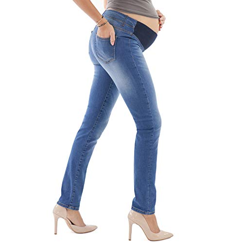 Made in Italy Jeans Skinny Nero Jeans Premaman Effetto Push Up MAMAJEANS Siracusa