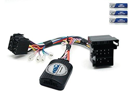 NIQ ACV Electronic Adaptateur de commande au volant CAN-BUS pour autoradio Pioneer Compatible avec Ford KA à partir de 2009