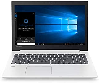 レノボ・ジャパン (Lenovo JAPAN) ノートPC ideapad 330 81DE02NMJP ブリザードホワイト [Celeron・15.6インチ・HDD 1TB・メモリ 4GB]