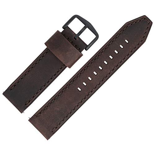 Fossil LB-FS5251SET - Cinturino per orologio, 22 mm, in pelle, bicolore, FS-5251SET