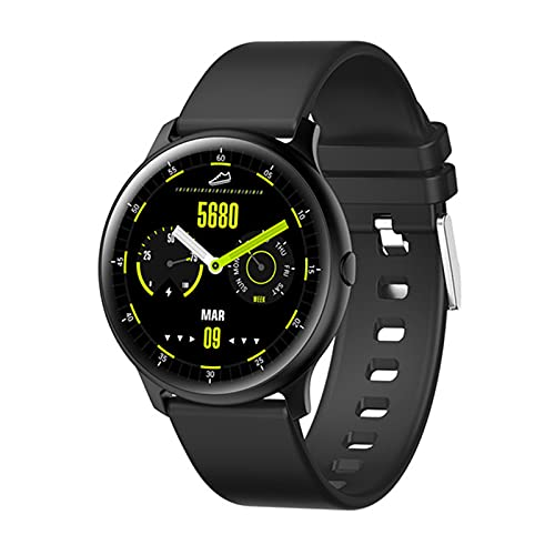 LDJ KW13 Smart Watch Fitness Tracker 1.2 Pulgada 390 * 390 Monitor De Frecuencia Cardíaca Compass Compass IP68 Smartwatch Impermeable,D