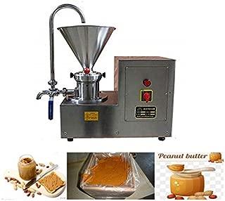 CGOLDENWALL 2200W Commercial colloid mill homogenizer crusher small Peanut butter maker Sesame Butter maker Nut Butter Grinder electric Peanut Butter Grinding Machine grinder mill 70-100kg/h JMS60