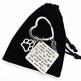 Pet Remembrance Key chain - When Tomorrow...