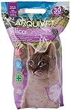 Arquivet Arena gato Silica Crystal - Aroma lavanda - Capacidad: 3,8 L - Lecho higiénico para gatos, felinos aromatizado - Capacidad absorbente - Ayuda a eliminar olores y bacterias