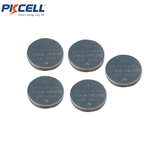 3V Coin Cell Lithium Batteries for Car Key Fob,5 Counts