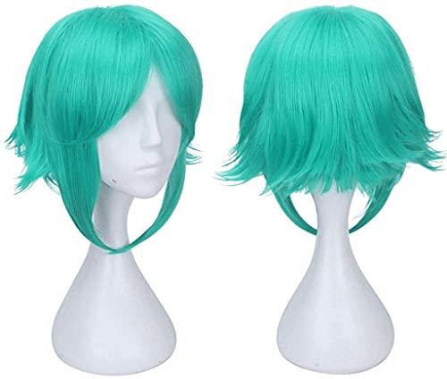 Anime Cosplay Wig Anime Fibra de alta temperatura Peluca sintética, Señoras Halloween Party Wig Hat (Color: C) (Color : C)
