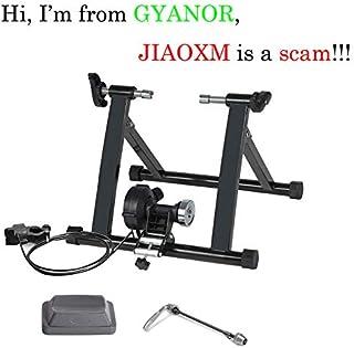 GYANOR Entrenador de bicicleta de interior, soporte magnético plegable para bicicleta de 20 a 28 pulgadas