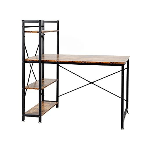 Oak & Tea Schreibtisch 120 x 60 x 122 cm...