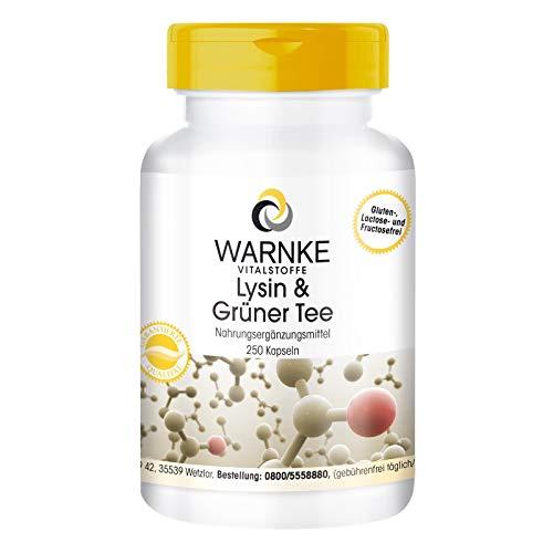 Warnke Gesundheitsprodukte Lysin und Tee Bild