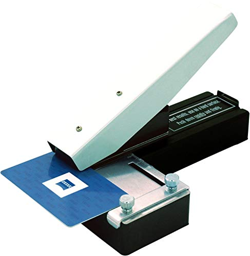 Punzón de ranura para tarjetas de identificación, funciona con todas las tarjetas de PVC e...