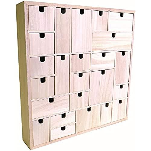 Artemio Calendario de Adviento para Decorar, Marca, diseño geométrico, Hecho de...