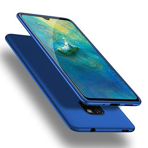 X-level Funda para Huawei Mate 20, Carcasa para Huawei Mate 20 Suave TPU Gel Silicona Ultra Fina Anti-Arañazos y Protección a Bordes Funda Phone Case para Huawei Mate 20 - Azul