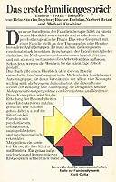 Das Erste Familiengesprach: Theorie, Praxis, Beispiele 3129074708 Book Cover