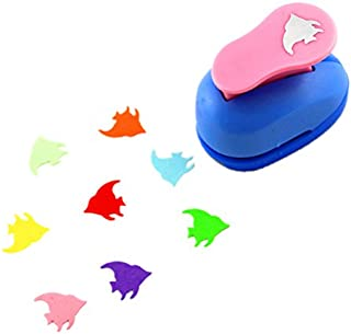 CADY Crafts Punch 2.5 cm Paper Punches Paper Flower (Fish)