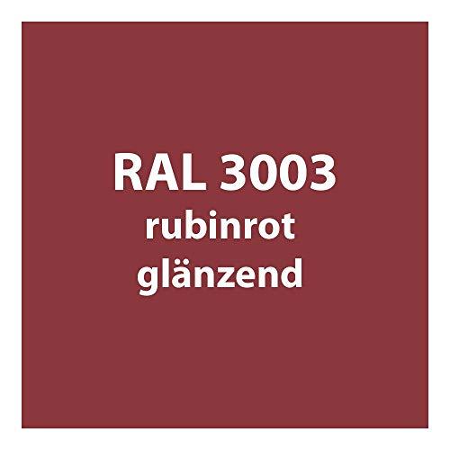 Tupflack 50 ml * viele verschiedene Farben * (RAL 3003 rubin-rot glänzend)