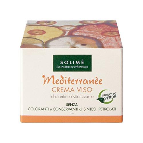 Mediterranèe Crema Viso al Naranja y Calendula 50 ml - Producto erboristico Made in Italy