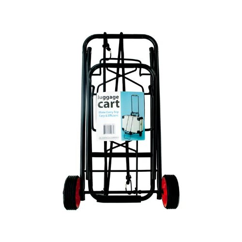 Kole Imports Portable Folding Luggage Cart