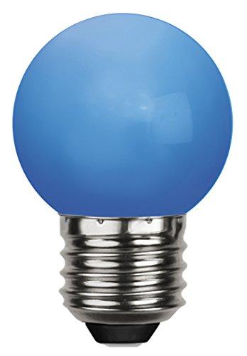 Tecstar Star Décoration de Jardin, LED Decoration, E 27, Polycarbonate, Bleu, 4,5 x 4,5 x 6,8 cm, 336–49–1