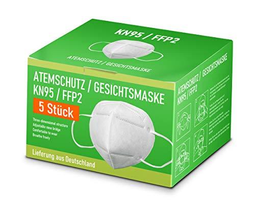 Premium Mund und Nasen Schutz 5 Stück inkl 15 Euro Gutschein für den OnlineShop PCBilliger