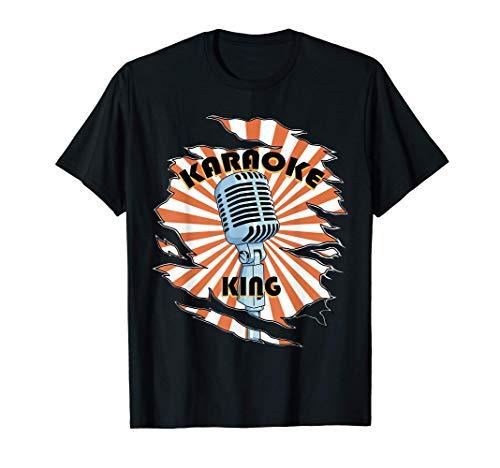 Regalos de Karaoke retro Micrófono para niños Regalo de Camiseta