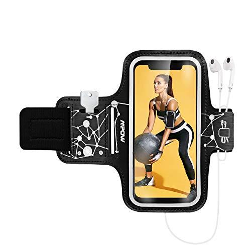 Mpow - Brazalete Deportivo Deportivo para iPhone 11/11 Pro/XR/XS/8/7/6/Galaxy S9/S8, hasta 6,1'