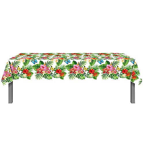 Nappe de table de jardin étanche 200 x 130 cm - Nappe rectangulaire facile à nettoyer -...