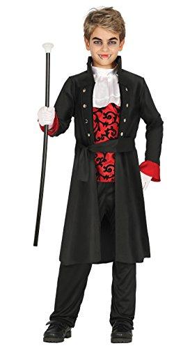 Guirca- Disfraz vampiro, Talla 10-12 años (87433.0)